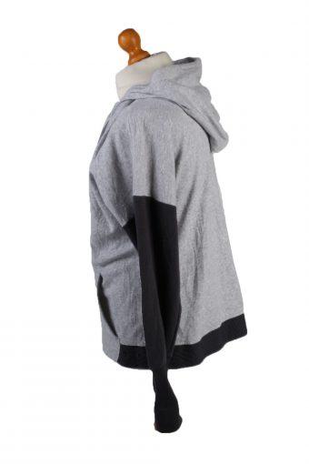 Vintage Champion Full Zip Hoodie Sweatshirt Top Unisex XXL Grey -SW2592-133586