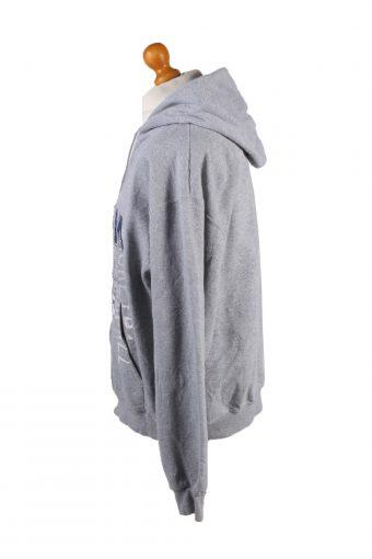 Vintage Champion Full Zip Hoodie Sweatshirt Top Unisex L Grey -SW2593-133590