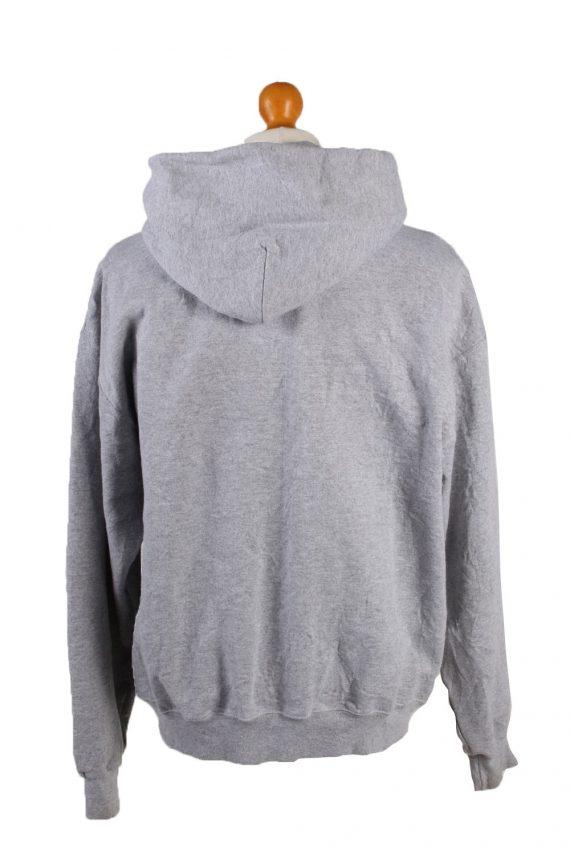 Vintage Champion Full Zip Hoodie Sweatshirt Top Unisex L Grey -SW2593-133591