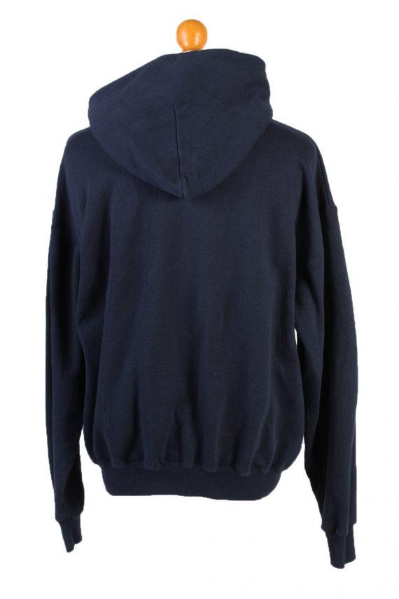 Vintage Champion Full Zip Hoodie Sweatshirt Top Unisex L Navy -SW2599-133615