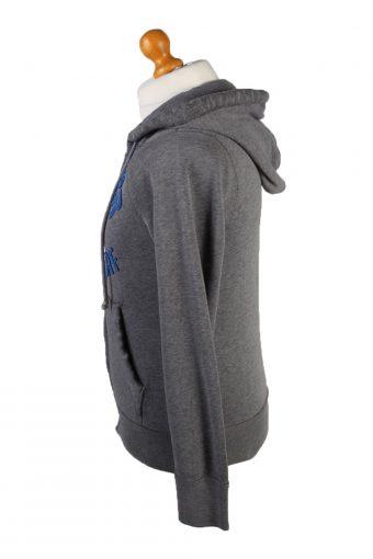 Vintage Hollister Full Zip Hoodie Sweatshirt Top Unisex S Grey -SW2614-133675