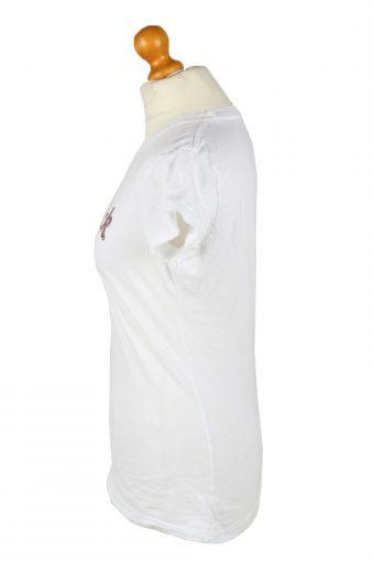 Vintage Hard Rock Cafe Womens T-Shirt Tee Crew Neck M White TS426-136419