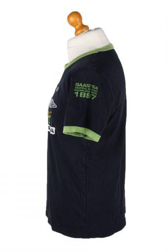 Vintage Gaastra Mens T-Shirt Tee Crew Neck L Navy TS383-136143