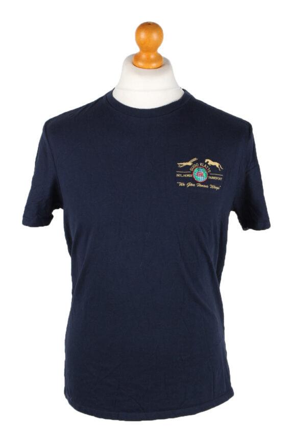 Vintage Tommy Hilfiger Mens T-Shirt Tee Crew Neck M Navy TS407-0