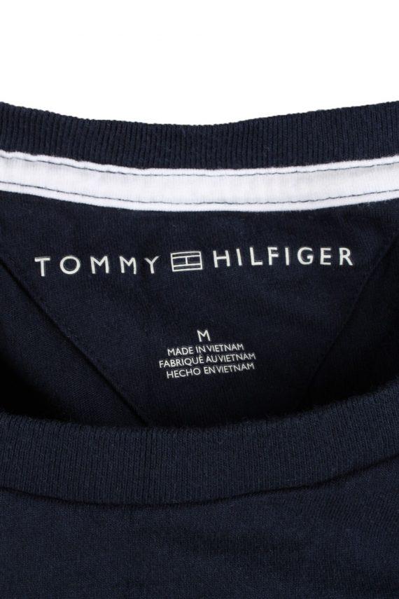 Vintage Tommy Hilfiger Mens T-Shirt Tee Crew Neck M Navy TS407-136241