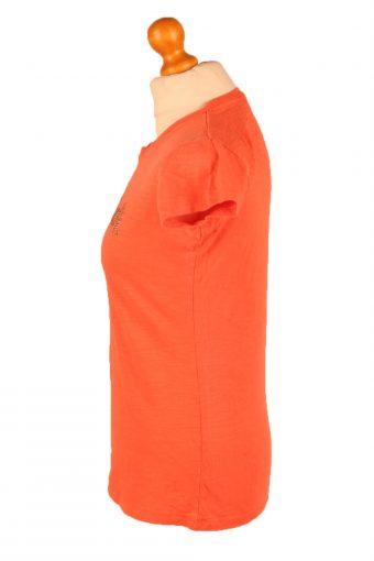 Vintage Hard Rock Cafe Womens T-Shirt Tee Crew Neck XL Orange TS425-136399