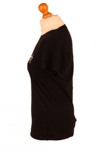 Vintage Hard Rock Cafe Womens T-Shirt Tee Crew Neck L Black TS434-136364