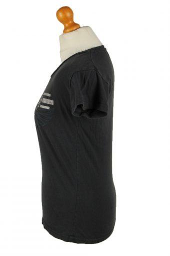 Vintage Hard Rock Cafe Womens T-Shirt Tee Crew Neck M Grey TS439-136384