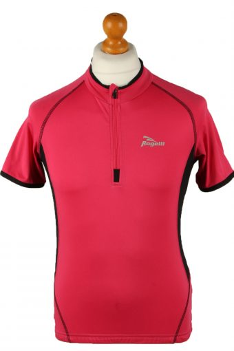 Cycling Shirt Jersey 90s Retro Pink L