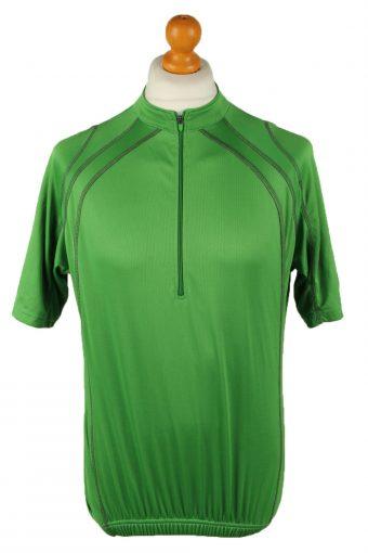 Cycling Shirt Jersey 90s Retro Green XL