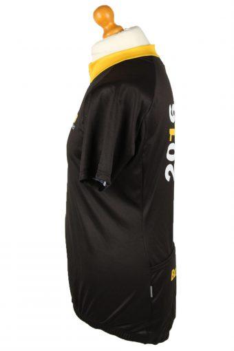 Vintage Owayo Unisex Cycling Jersey Short Sleeve Full Zip With Back Pockets 9 Black CW0793-140073