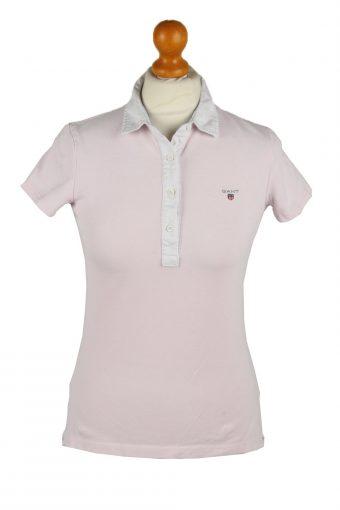 Gant Polo Shirt 90s Retro Light Pink S