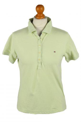 Tommy Hilfiger Polo Shirt 90s Retro Lime L