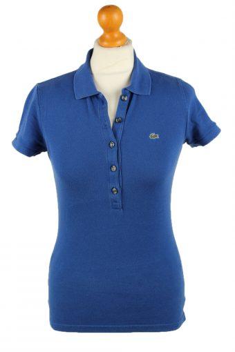 Lacoste Polo Shirt 90s Retro Dark Blue S