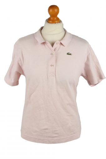 Lacoste Polo Shirt 90s Retro Light Pink L