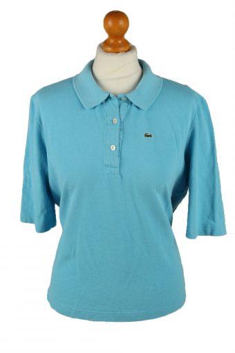 Lacoste Polo Shirt 90s Retro Light Blue XL