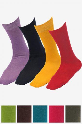New Ankle Socks UK 6-11 UK 4-8 Men/Women Comfortable Cotton Plain Rich Colour