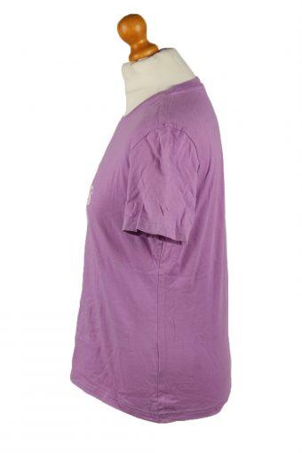 Vintage Adidas Womens T-Shirt Tee Crew Neck Purple TS450-136459