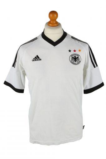 Adidas Mens T-Shirt Deutscher Fussball Bund 3 Stars White M