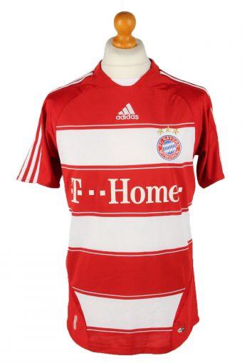 Adidas Mens T-Shirt FC Bayern Munchen Red XL