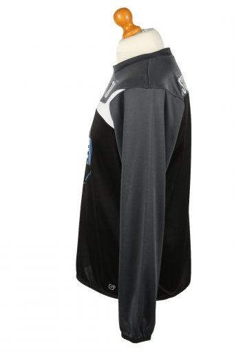 Vintage Puma Football Jersey Shirt TSV Steinbach Haiger No 18 Germany M Black CW0795-142872