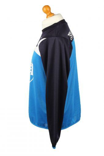 Vintage Puma Football Jersey Shirt TSV Steinbach Haiger No 18 Germany M Blue CW0796-142876