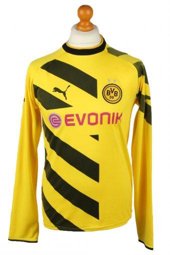 Puma Football Jersey Shirt Borussia Dortmund 17 Aubameyang Yellow M