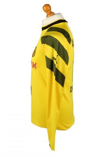 Vintage Puma Football Jersey Shirt Borussia Dortmund 17 Aubameyang Yellow CW0797-142880