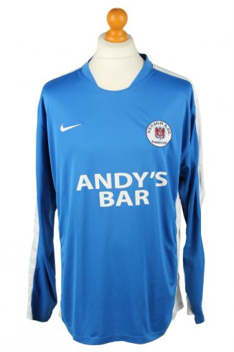 Nike Football Jersey Shirt Nenagh AFC Ireland 45/47 Blue XL