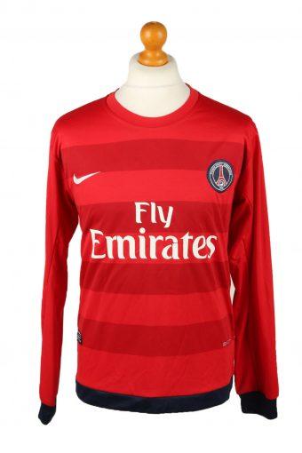 Nike Football Jersey Shirt Paris Saint Germain F.C. 18 Ibrahimovic Red Red L