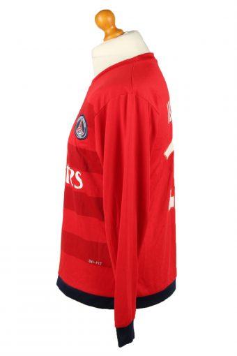 Vintage Nike Football Jersey Shirt Paris Saint-Germain F.C. 18 Ibrahimovic Red CW0799-142888
