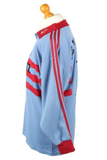 Vintage Adidas Football Jersey Shirt BC Rinnenthal No 1 Germany XL Blue CW0802-142900