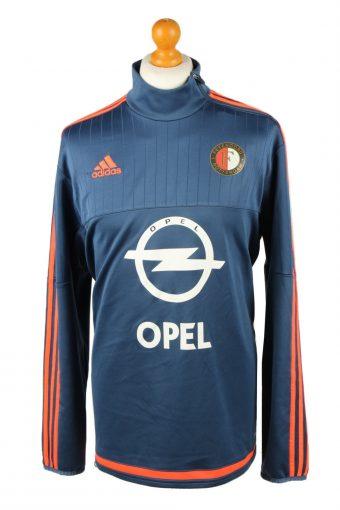 Adidas Football Jersey Shirt Feyenoord Amsterdam Netherlands Navy XL