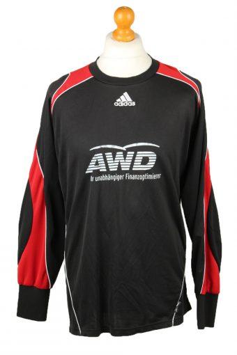 Adidas Football Jersey Shirt VfR Wellensiek Sportheim No 1 Elbow Padding Goalkeeper Black XXL