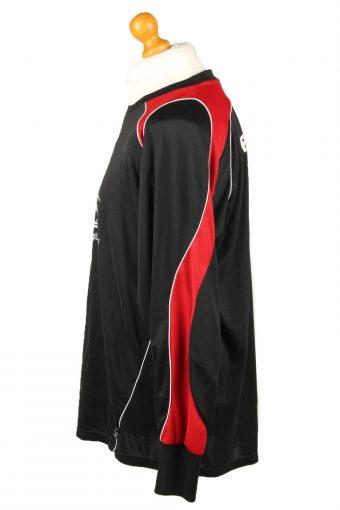 Vintage Adidas Football Jersey Shirt VfR-Wellensiek Sportheim No 1 Elbow Padding Goalkeeper XL Black CW0804-142908