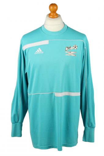 Adidas Football Jersey Shirt ZVV de Hoven Elbow Padding Goalkeeper Turquise XXL