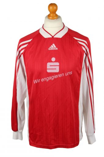 Adidas Football Jersey Shirt SV Baumheide No 14 Germany Red L