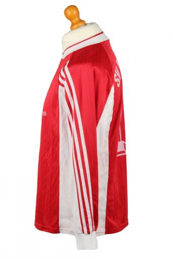 Vintage Adidas Football Jersey Shirt SV Baumheide No 14 Germany Red CW0807-142920