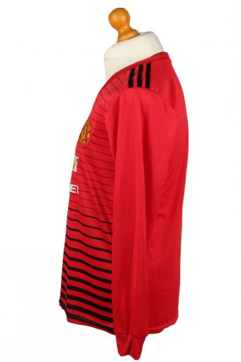 Vintage Adidas Football Jersey Shirt Manchester United F.C. XL Red CW0808-142924