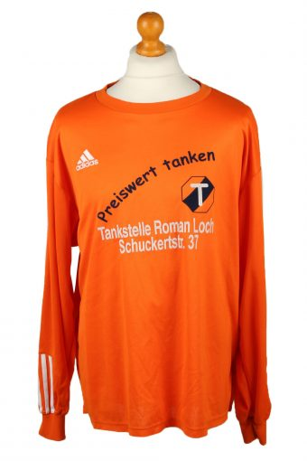 Adidas Football Jersey Shirt Sport Club Babenhausen No 17 Orange XXL
