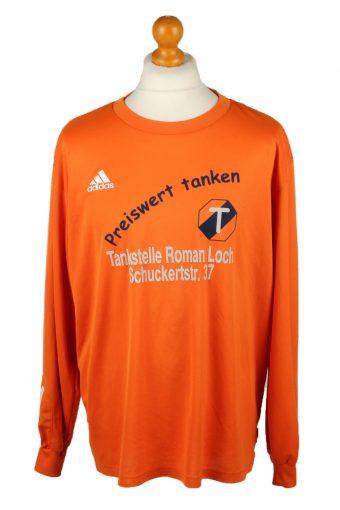 Adidas Football Jersey Shirt Sport Club Babenhausen No 13 Orange XL