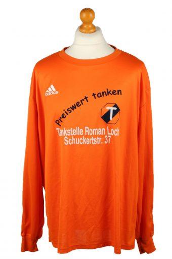 Adidas Football Jersey Shirt Sport Club Babenhausen No 19 Orange XXL