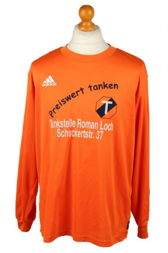 Adidas Football Jersey Shirt Sport Club Babenhausen No 5 Orange L
