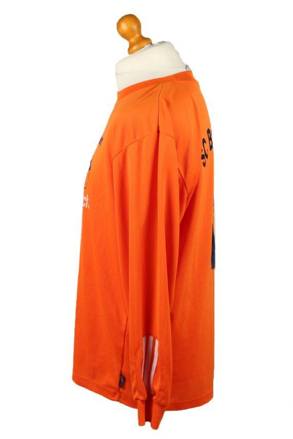 Vintage Adidas Football Jersey Shirt Sport Club Babenhausen No 5 L Orange CW0814-142948