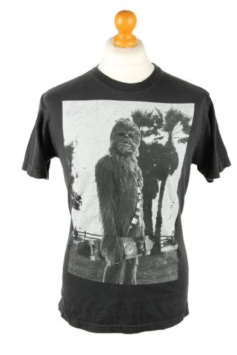 Star Wars Mens T-Shirt Tee Crew Neck Black M