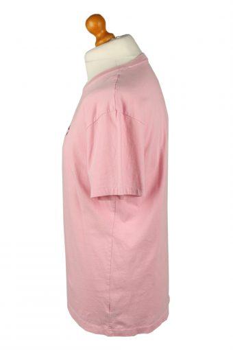 Vintage Polo Ralph Lauren Mens T-Shirt Shirt Tee V Neck M Pink TS510-141822