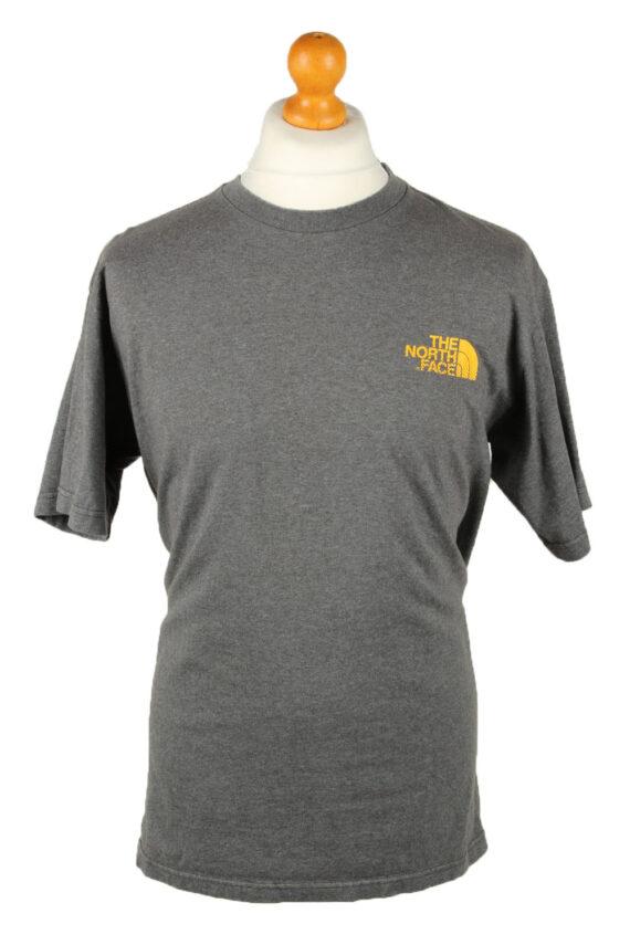 Vintage The North Face Mens T-Shirt Shirt Tee Crew Neck M Grey TS511-0