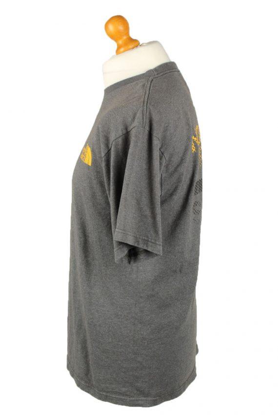 Vintage The North Face Mens T-Shirt Shirt Tee Crew Neck M Grey TS511-141826
