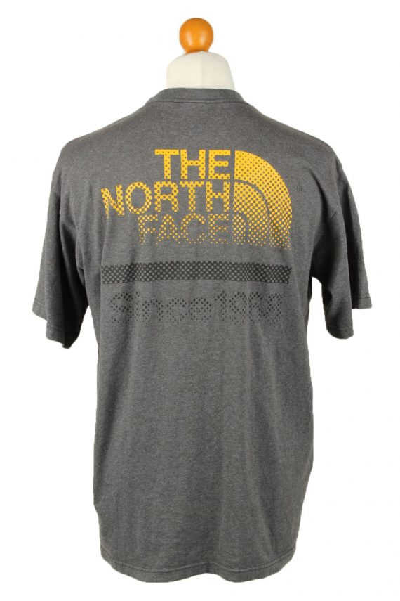 Vintage The North Face Mens T-Shirt Shirt Tee Crew Neck M Grey TS511-141827
