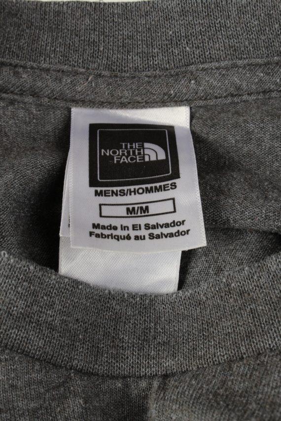 Vintage The North Face Mens T-Shirt Shirt Tee Crew Neck M Grey TS511-141828